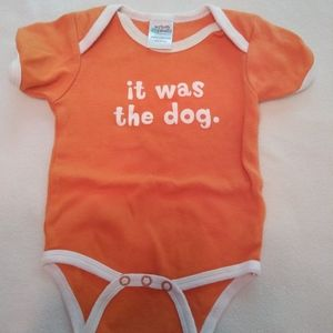 Other - It was the dog onsie